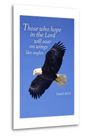 Isaiah 40:31 - Inspirational-Lantern Press-Metal Print