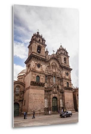 View over Iglesia De La Compania De Jesus Church on Plaza De Armas, Cuzco, Peru, South America-Yadid Levy-Metal Print