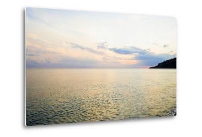 Seascape at Dusk, Guardia Piemontese, Calabria, Italy-Stefano Amantini-Metal Print