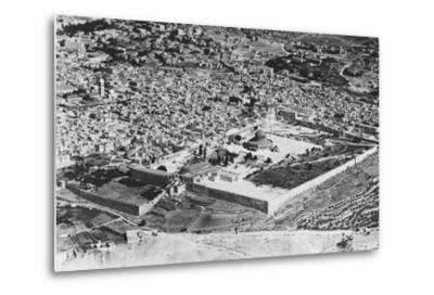 Jerusalem--Metal Print