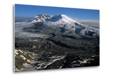 Ash Filled Valley Near Mount St. Helens-Paul Souders-Metal Print