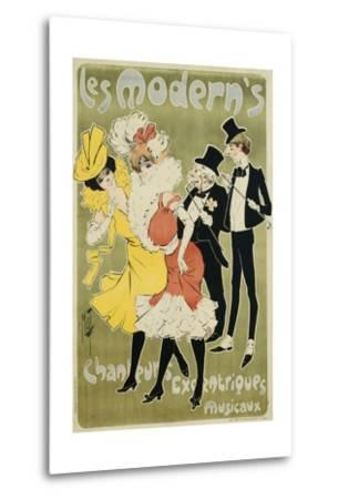 Les Modern's Poster--Metal Print