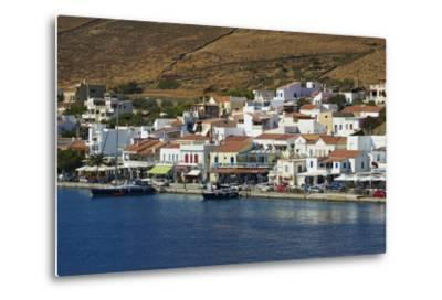 Korissia Harbour, Kea Island, Cyclades, Greek Islands, Greece, Europe-Tuul-Metal Print