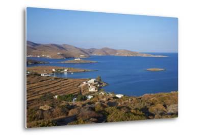 Kythnos, Cyclades, Greek Islands, Greece, Europe-Tuul-Metal Print