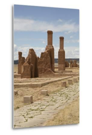 Remains of Buildings at Fort Union National Monument-Richard Maschmeyer-Metal Print