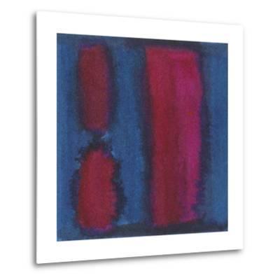 Indigo Meditation II-Renee W^ Stramel-Metal Print