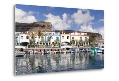 Puerto De Mogan, Gran Canaria, Canary Islands, Spain, Atlantic, Europe-Markus Lange-Metal Print