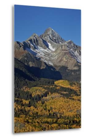 Wilson Peak in the Fall, San Juan National Forest, Colorado, Usa-James Hager-Metal Print