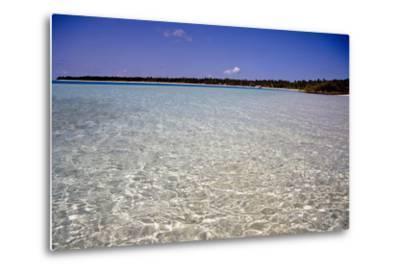 Clear Water Off Bangaram Island, Lakshadweep Islands, India, Indian Ocean, Asia-Balan Madhavan-Metal Print