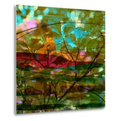 Abstract Leaf Study III-Sisa Jasper-Metal Print