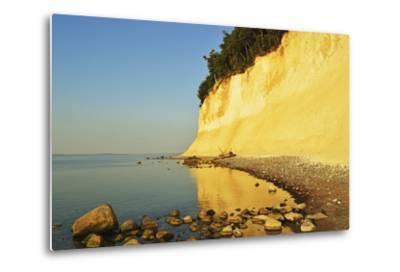 Sunrise at the Chalk Cliffs-Jochen Schlenker-Metal Print