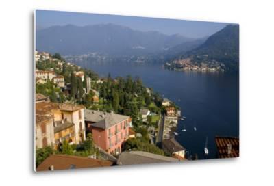 Torno from Moltrasio, Lake Como, Lombardy, Italian Lakes, Italy, Europe-Charles Bowman-Metal Print