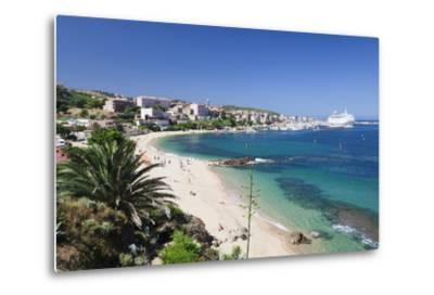 Propriano, Gulf of Valinco, Corsica, France, Mediterranean, Europe-Markus Lange-Metal Print