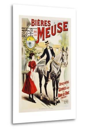 Bieres De La Meuse Poster--Metal Print