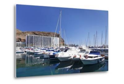 Marina, Puerto Rico, Gran Canaria, Canary Islands, Spain, Atlantic, Europe-Markus Lange-Metal Print