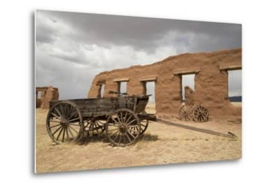 Old Wagons, Fort Union National Monument, New Mexico, United States of America, North America-Richard Maschmeyer-Metal Print