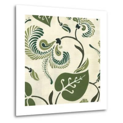 Verdant Fresco II-Erica J^ Vess-Metal Print