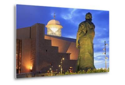 Afredo Kraus Auditorium, Las Palmas City, Gran Canaria Island, Canary Islands, Spain, Europe-Richard Cummins-Metal Print