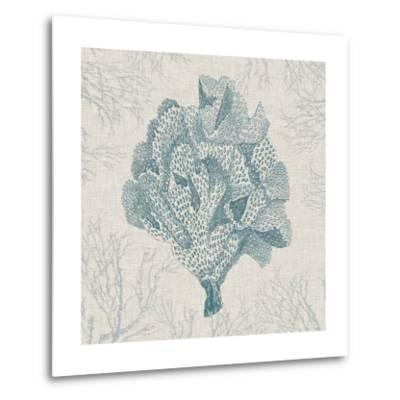 Coral Motif IV-Vision Studio-Metal Print