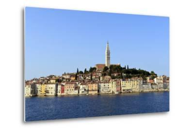Church of St. Euphemia and Old Town from the Sea on a Summer's Early Morning-Eleanor Scriven-Metal Print