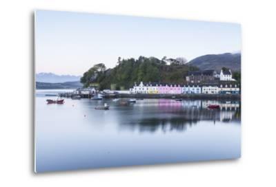 Portree Harbour on the Isle of Skye, Inner Hebrides, Scotland, United Kingdom, Europe-Julian Elliott-Metal Print