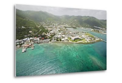 Road Town on Tortola in British Virgin Islands-Macduff Everton-Metal Print