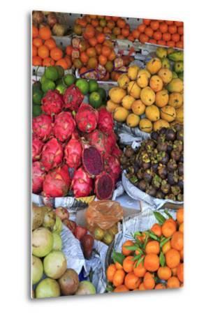 Fruit in Sihanoukville Market, Sihanouk Province, Cambodia, Indochina, Southeast Asia, Asia-Richard Cummins-Metal Print