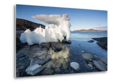 Melting Iceberg, Repulse Bay, Nunavut Territory, Canada-Paul Souders-Metal Print
