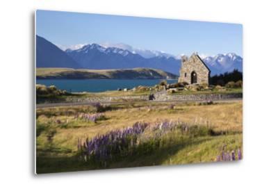Church of the Good Shepherd, Lake Tekapo, Canterbury Region, South Island, New Zealand, Pacific-Stuart Black-Metal Print