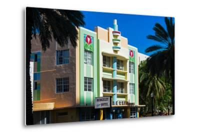 The Berkeley Shore Hotel in the Art-Deco District of Miami Beach - Florida-Philippe Hugonnard-Metal Print