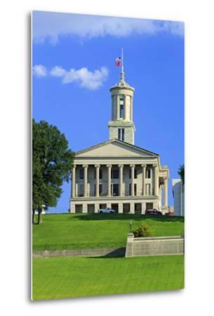 Bicentennial Capitol Mall State Park and Capitol Building-Richard Cummins-Metal Print