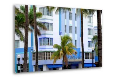 The Park Central Hotel Miami Beach - Art Deco District - Florida-Philippe Hugonnard-Metal Print