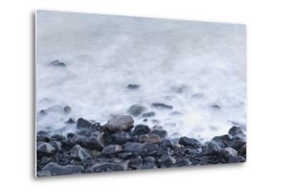 Pebbles on Playa Blanca, Lanzarote, Yaiza, Spain-Guido Cozzi-Metal Print