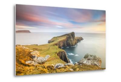 United Kingdom, Uk, Scotland, Inner Hebrides, the Cliffs of Neist Point-Fortunato Gatto-Metal Print