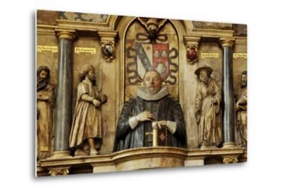 Sir Henry Savile, a Scholar and Translator of the King James Bible-Jim Richardson-Metal Print