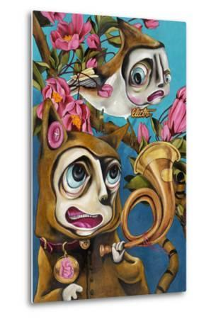 Natures Call-Coco Electra-Metal Print