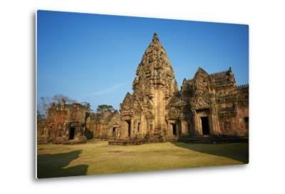Phanom Rung Temple, Khmer Temple from the Angkor Period, Buriram Province, Thailand--Metal Print