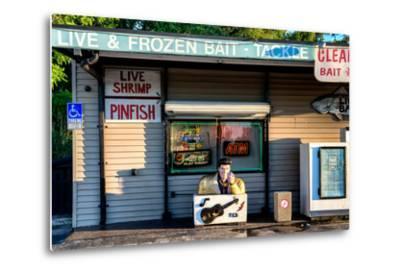 Old Traditional American Bar Restaurant-Philippe Hugonnard-Metal Print