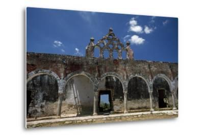 The Ruins of the Once Elegant Hacienda Mucuyche-Macduff Everton-Metal Print