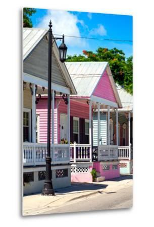 Key West Architecture - The Pink House - Florida-Philippe Hugonnard-Metal Print