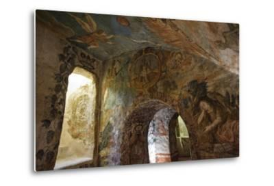 Spectacular Frescos Cover an Underground Chapel at the Convent of Santa Clara, Cusco-Beth Wald-Metal Print