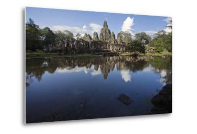 Bayon, the Premier Temple Within Angkor Thom-Scott S^ Warren-Metal Print