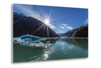 Calved Glacier Ice in Tracy Arm-Ford's Terror Wilderness Area-Michael Nolan-Metal Print