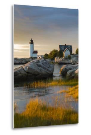 USA, Massachusetts, Gloucester, Annisquam, Annisquam Lighhouse-Walter Bibikow-Metal Print