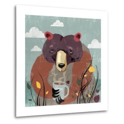 Honey bear-Anna Polanski-Metal Print