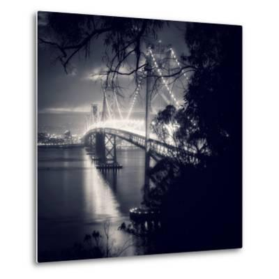 Bay Bridge, All Dressed Up, San Francisco-Vincent James-Metal Print