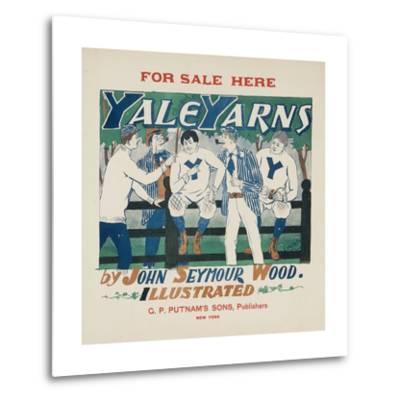 Yale Yarns Poster--Metal Print