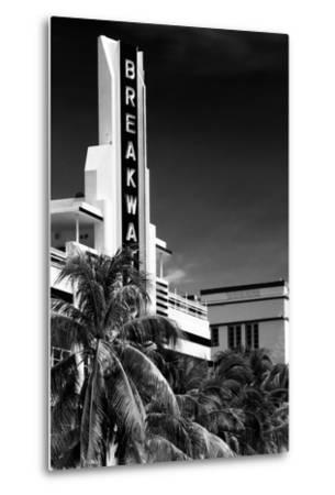 Art Deco Architecture of Miami Beach - The Esplendor Hotel Breakwater South Beach - Ocean Drive-Philippe Hugonnard-Metal Print