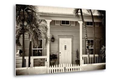 Key West Architecture - Heritage Structures in Old Town Key West - Florida-Philippe Hugonnard-Metal Print
