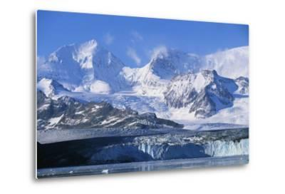 Nordenskjold Glacier and Allardyce Mountain Range-Paul Souders-Metal Print